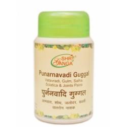 Пунарнавади Гуггул Шри Ганга Punarnavadi Guggal Shri Ganga - Омоложение и очищение организма 50 грамм