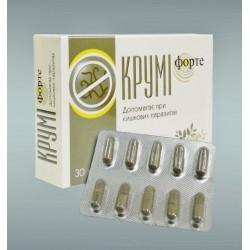 Круми Форте - глистогонное от паразитов, UAP Pharma Pvt.Limited, 30капсул