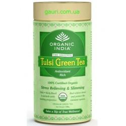 Чай Зелёный Тулси, Tulsi Green Tea 100 грамм
