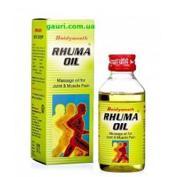 Масло Пума болей в суставах и мышцах, Rhuma oil Baidyanath, 50мл