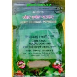 Мыльные бобы Шикакай, сухой шампунь природное моющее средство, Shikakai, Shekakai, NIDCO, Acacia concinna,100грамм