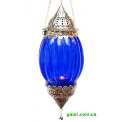Светильник подвесной в арабском стиле. Арт. 9050025 - 4 синий