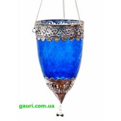 Светильник подвесной в арабском стиле. Арт.9543 Синий