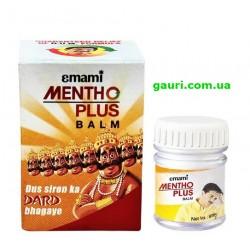 Бальзам обезбаливающий от головных болей и болей в мышцах, Менто Плюс, Emami Mentho Plus Balm
