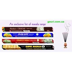 Благовония Квадрат в ассортименте, Hem, Darshan, Sital, Tulasi, аромапалочки четырехгранники