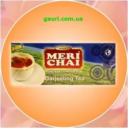 Чай Дарджилинг Элитный Индийский Мери Чай, Meri Chai Darjeeling, 25пакетиков