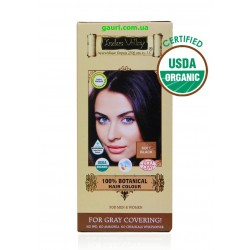Краска Долина Инда, Мягко Чёрная, для волос, 100% натуральная, органическая, 100% Botanical Hair Colour Soft Black, Indus Valley