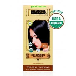 Краска Долина Инда 100% натуральная, органическая Чёрный Инди, 100% Botanical Hair Colour Indus Black, Indus Valley