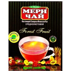 Чёрный среднелистовой Индийский Чай Лесные Ягоды Мери Чай, Meri Chai Medium leaf Forest Fruit, 100грамм