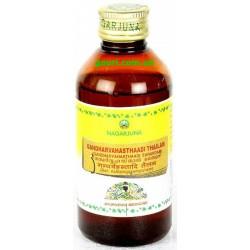 Гандхарвахастхади Таил, от болей в животе и теле, очищенияе организма, Нагарджуна, Gandharvahasthadi Taila, Nagarjuna, 200грамм