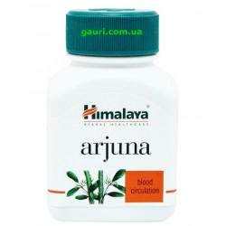 Арджуна Хималая, лечение сердечно-сосудистых заболеваний, Arjuna Himalaya, 60капсул