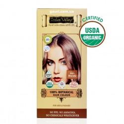 Краска Долина Инда, Пепельно Русая, 100% натуральная и органическая, 100% Botanical Hair Colour Ash Blond, Indus Valley