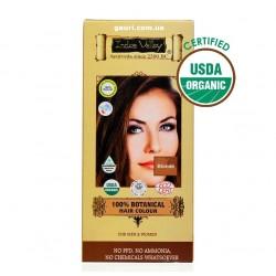 Краска Долина Инда, Русая, 100% натуральная и органическая, 100% Botanical Hair Colour Blond, Indus Valley