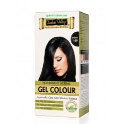 Краска-гель Долина Инда натуральная, Русый средний, Gel Hair Colour Medium Blonde 7.0, Indus Valley