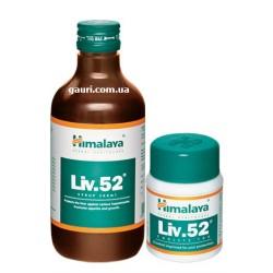 Лив 52 сироп, Хималая, Liv 52 Himalaya, для регенерации печеночных клеток, 100мл