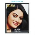 Краска для волос на основе Хны Чёрная, Mina Black, 10грамм