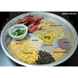 Самбар Масала для блюд из риса и овощного супа, Sambar Masala, 50грамм