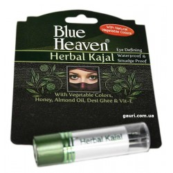 Каджал Хербал, Сурьма для глаз, Blue Heaven Kajal Herbal, 3грамма