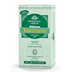 Чай органический Тулси, Базилик, Tulsi, Organic India, 25пак.
