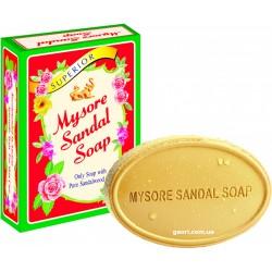 Мыло Mysore Sandal, Майсори Сандал, Сандаловое мыло