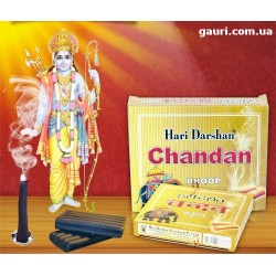 Благовоние безосновное мягкое Чандан (Сандал), Chandan (Sandal) аромат Сандала и масла Гхи