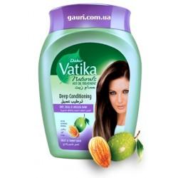 Крем-маска Дабур Ватика, для сухих, тусклых и безжизненных волос, Dabur Vatika Hot Oil Treatment