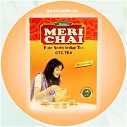 Чёрный гранулированный индийский чай Мери Чай, Meri Chai CTC, 100грамм