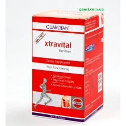 Экстравитал тоник для мужчин, избавит от стресса, придаст Вам силы и укрепит иммунитет, Xtravital, Guardian