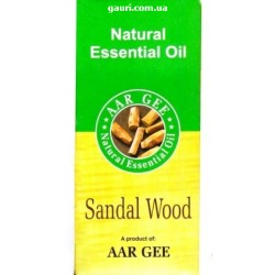 Натуральное эфирное масло Сандал, Aar Gee Natural Essential Oil Sandal, 10мл
