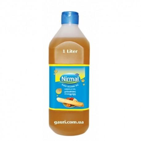 Кунжутное масло пищевое и массажное 1литр, КФЛ Нирма, Sesame Oil KLF Nirmal