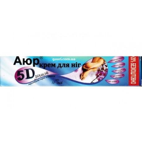 БороАюр крем для ног 5D защита, Триюга - Аюрведа, 30грамм