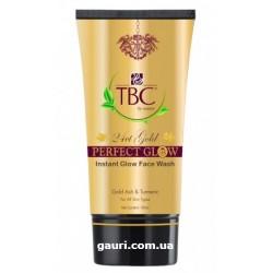 Гель для умывания золото 24 карата, 24 Ct Gold Perfect Glow Instant Glow Face Wash Proveda Herbals TBC, 100мл
