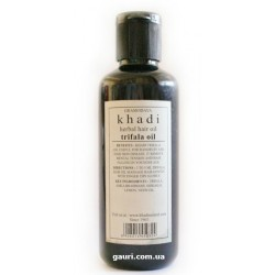 Масло Кхади с Трифалой, для волос и тела, Khadi Triphala Oil, 210мл