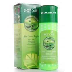 Био Зеленое Яблоко шампунь и кондиционер, Bio Green Apple Fresh Daily Purifying Shampoo Conditioner, 190мл