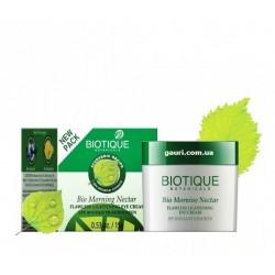 Крем для век Био Утренний Нектар, Bio Morning Nectar Flawless Lightening Eye Cream SPF 30 UVA/UVB Sunscreen, Biotique, 15грамм