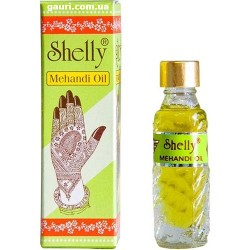 Масло для Мехенди, для усиления цвета Биотату, Mehandi Oil Shelly