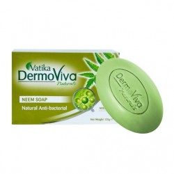 Аюрведическое антибактериальное мыло Vatika DermoViva Neem Soap 125 грамм
