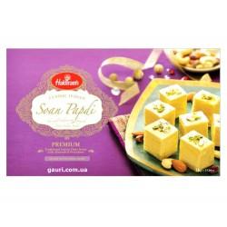 Соан Папди популярные Индийские сладости Вегетарианские конфеты, Soan Papdi Haldiram Premium