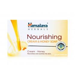 Мыло питательное Сливочно-Медовое Хималая, Himalaya Herbals Nourishing Cream & Honey Soap