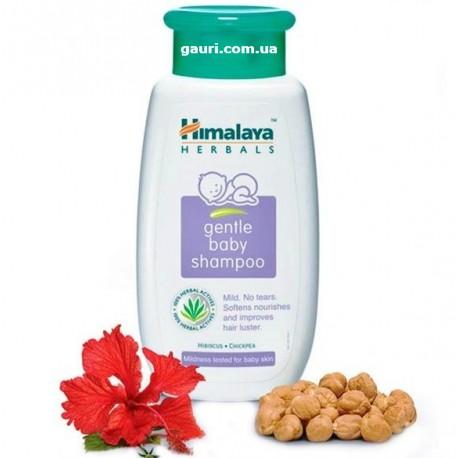 Шампунь детский от рождения, Хималая, Himalaya Herbal Baby Gentle Shampoo, 200мл
