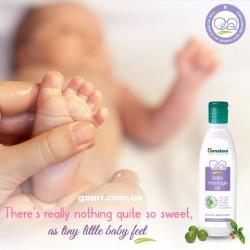 Детское массажное масло Олива, Зимняя Вишня, Хималая, Himalaya Baby Massage Oil, 100мл