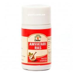 Амватари Рас, избавляет от токсинов и способствуют излечению артрита, лихорадки, Дабур, Amvatari Ras Dabur