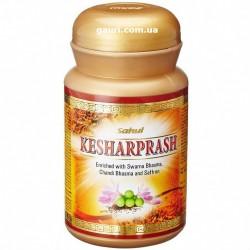 Кешарпраш Сахул, Супер Чаванпраш с Золотом и Шафраном, усиление иммунитета, Kesharprash Sahul 500грамм