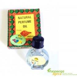Натуральное парфюмированное масло Роза, Shell Expo, Rose, Natural Parfume Oil, 4мл