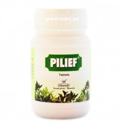 Пилеф, аюрведическое средство от гемороя Чарак, Pilief Ayurvedic Herbal Medicine for Piles, Hemorrhoids Charak