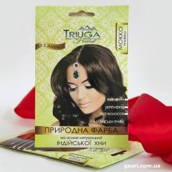 Краска природная Триюга Мокко для волос на основе натуральной Хны