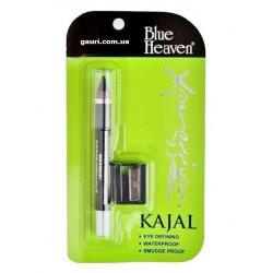 Каджал с точилкой экспрешн, Сурьма для глаз, Xpression KAJAL Blue Heaven