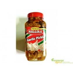 Чеснок маринованный, Чеснок Пикл для Индийской кухни! Mallika Garlic Picle, 500грамм