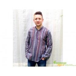 Рубашка мужская в полоску, 346