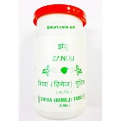 Шива Химедж Гутика, Харитаки Занду, забота обо всём организме, Shiva Himej Terminalia Chebula Zandu,100 таб